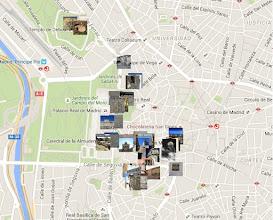 Photo: Mapa de la ruta