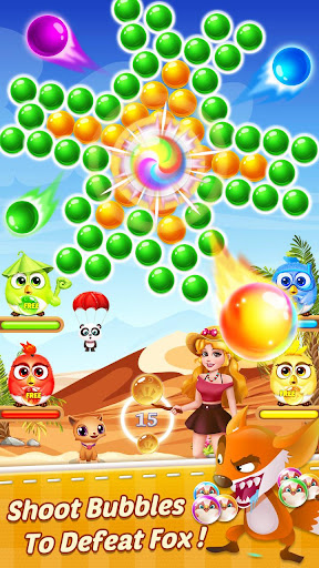 Bubble Shooter Pirate apktram screenshots 1