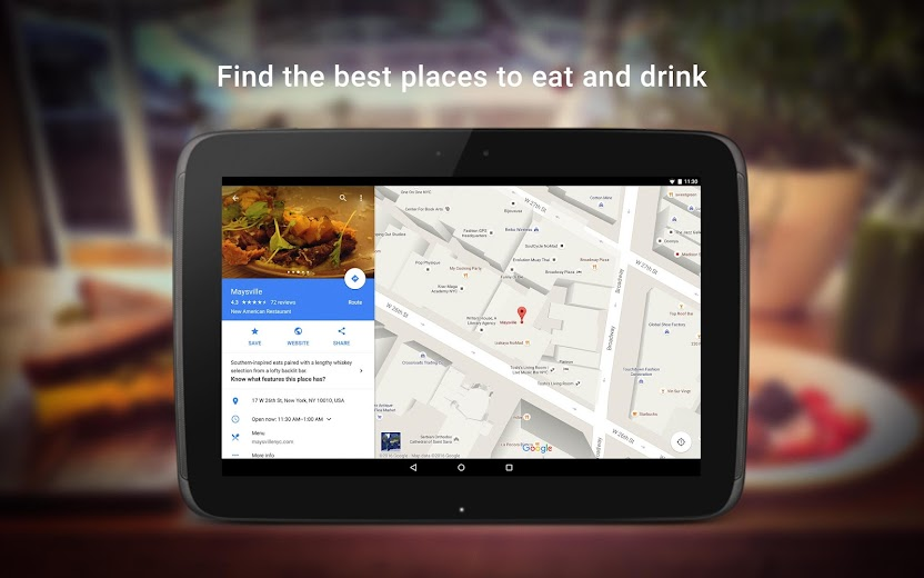 Screenshot 11 for Google Maps's Android app'