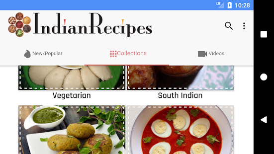 Top 10 indian cooking apps for android to make your smartphone your indianrecipes forumfinder Images