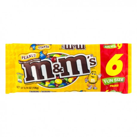 chocolate m&m peanut 6 und