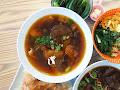 山城亭蕃茄牛肉麵/日式煎餃