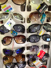 Photo: Huge sunglasses collection!
