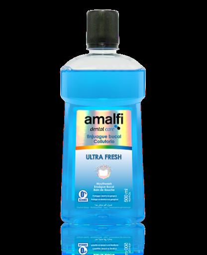 Enjuague Bucal Amalfi Dent Ultra Fresh Dientes Sensibles x500mL