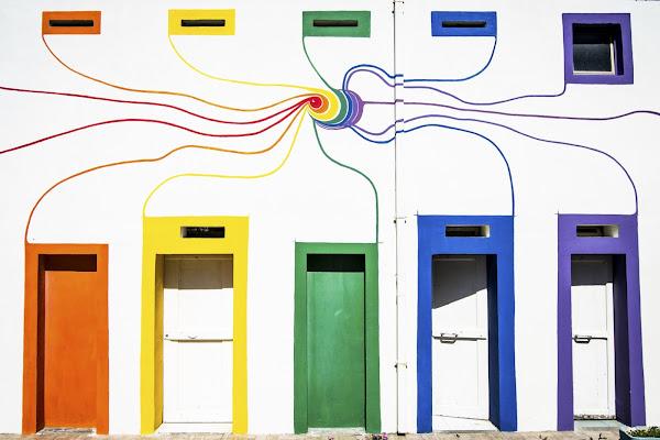 la porta dei colori di slyweb
