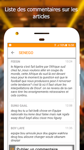 Senego: News in Senegal  screenshots 4