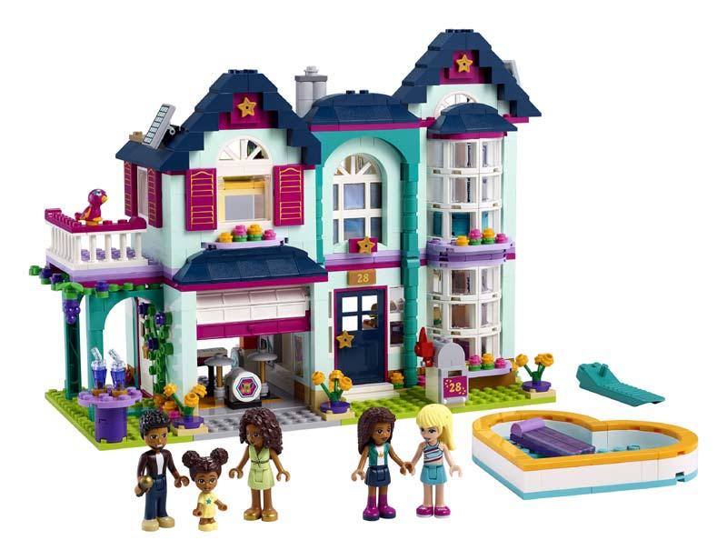 Contenido de Lego® 41449 Casa Familiar de Andrea