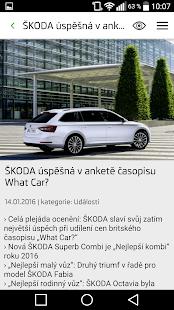 ŠKODA Media Services - náhled