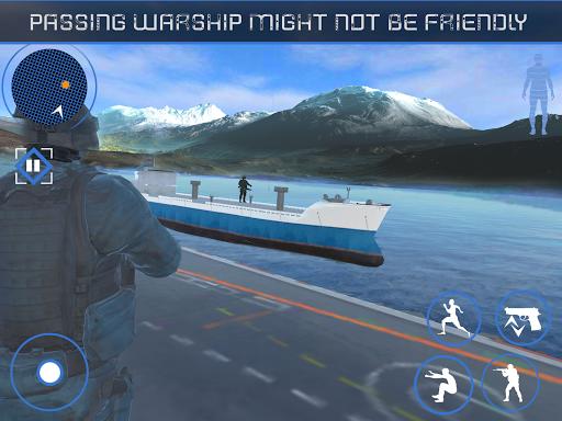 Blazing Sniper Commando: Attaque terroriste marine  captures d'écran 1