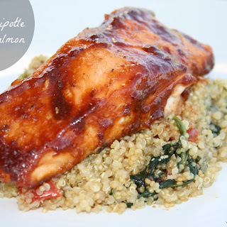 Honey Chipotle Glazed Salmon