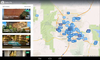 Screenshot of Expedia Hotels, Flights & Cars