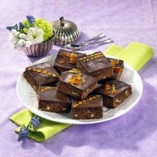 Rum-Pecannuss-Brownies