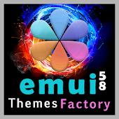 Theme Shades of the Huawei for EMUI 5/8