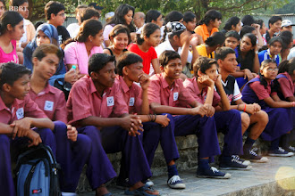 Photo: We are ONE show by school children