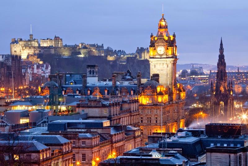 Эдинбург называют Северными Афинами