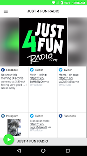 JUST 4 FUN RADIO- screenshot thumbnail