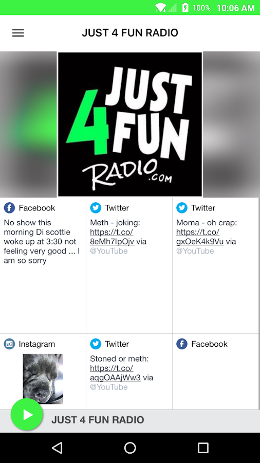 JUST 4 FUN RADIO- screenshot
