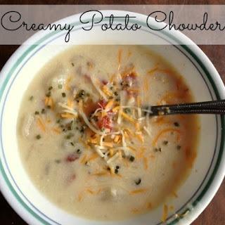 Crock Pot Potato Chowder.