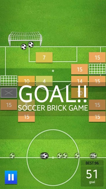 #14. Soccer Brick Game (Android)