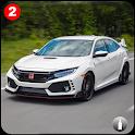 Civic X : Extreme Super Modern Car Drift & Stunts icon