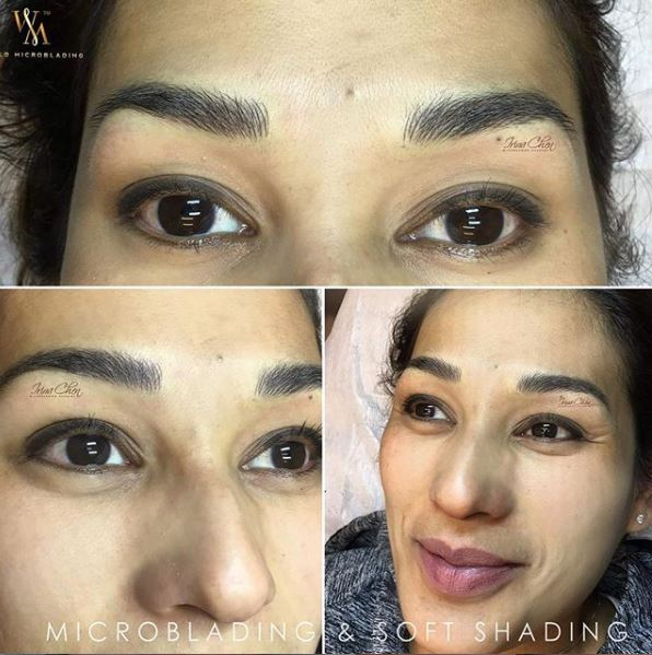 Microblading and Soft Shading