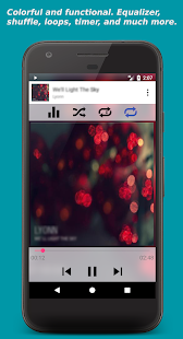 Invenio Music Player - náhled
