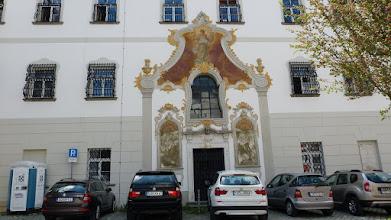 Photo: Fassade der Waisenhauskapelle