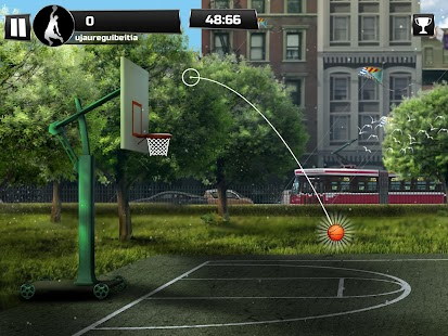iBasket - Basketball Shooting Practice Game- screenshot thumbnail