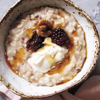 Low Calorie Porridge Oats Recipes.