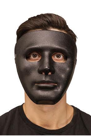 Ansiktsmask död, svart