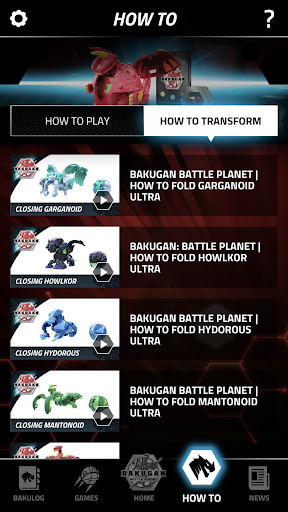 Bakugan Fan Hub - screenshot