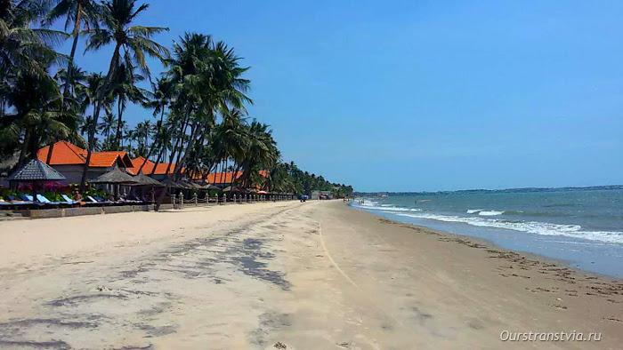 Пляж в Муйне, отдых на юге Вьетнама