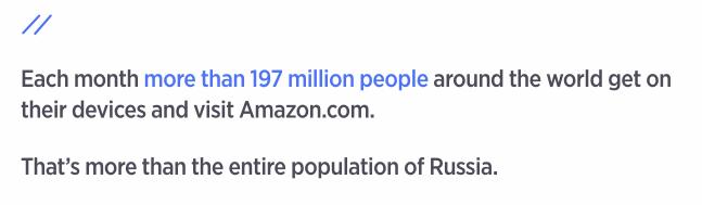 Image of Amazon Statistic