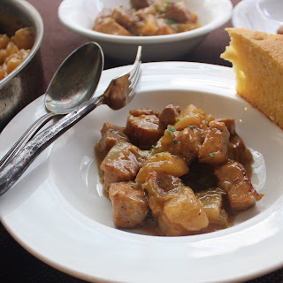 Fricassee of Pork and Turnips.