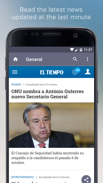 Colombian Newspapers- screenshot