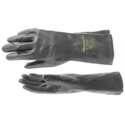 Перчатки резиновые сантехнические Сибртех  XL