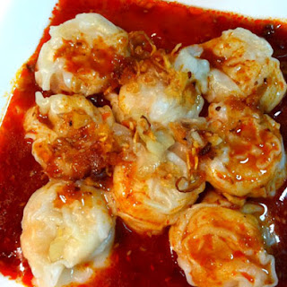 Red Oil Wanton with Vinegar Dressing 红油抄手 Recipe