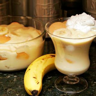 Homestyle Banana Pudding.