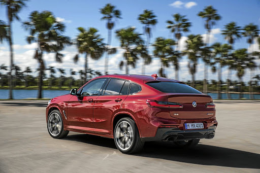 The new BMW X4 will arrive in SA in the third quarter of 2018. Picture: BMW