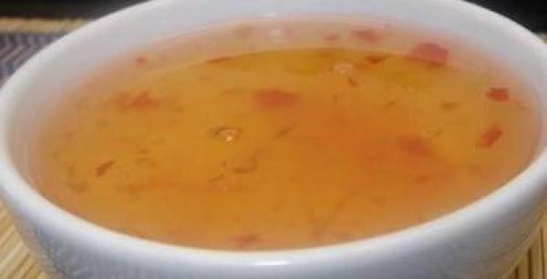 Sweet & Sour Sauce Recipe