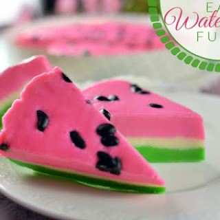 Easy Watermelon Fudge