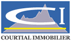 Logo de COURTIAL IMMOBILIER
