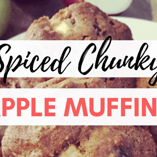 Spiced Chunky Apple Muffins Recipe
