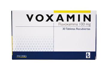 Voxamin Incobra   Fluvoxamina 100Mg Caja x 30 Tabletas