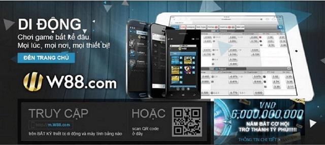Cài đặt và download app W88 lite