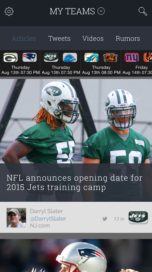 SportsManias: Sports News Feed- screenshot