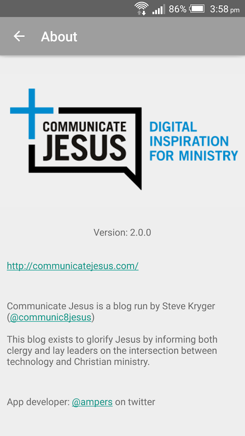 Communicate Jesus- screenshot