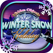 Hidden Objects Christmas Snow Winter Holiday Game