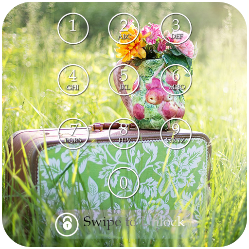 Summer Passcode Lock Screen