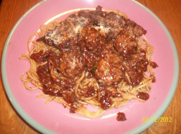 Spaghetti With Meatballs Recipe